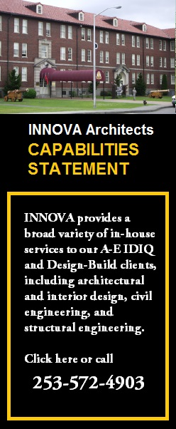INNOVA Architects experience with Department of Defense, Government